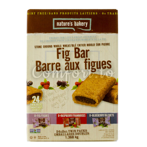 Nature's Bakery Stone Ground Whole Wheat Fig Bars - 1.4kg