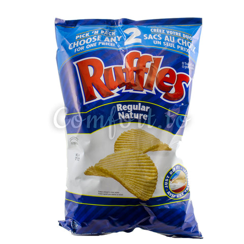 Ruffles Regular Chips, 585 g