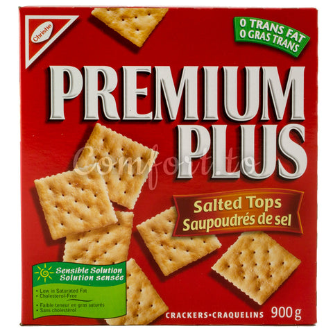 Christie's Premium Plus Salted Crackers, 1.4 kg