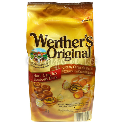 Storck Werther's Original Caramel Hard Candies, 1.1 kg