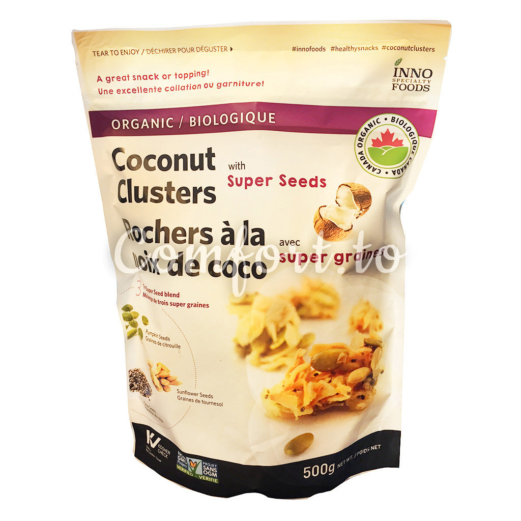 Inno Organic Coconut Clusters with Super Seeds, 500 g
