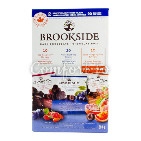 Brookside Dark Chocolate Assorted Flavours, 40 x 20 g