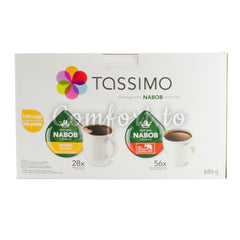 Tassimo & Nabob Breakfast & Colombian Variety Pack T-Disc - 84 discs