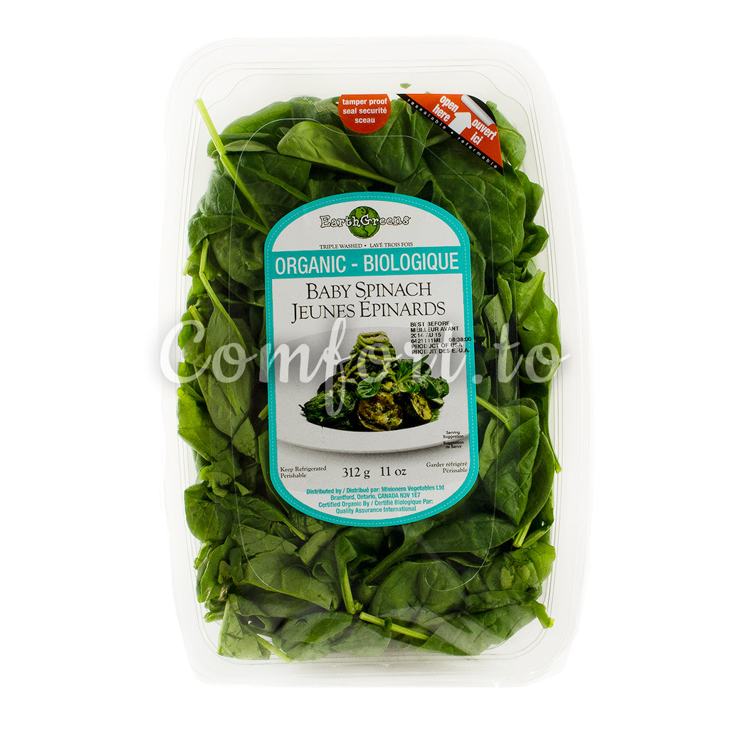 Organic Baby Spinach - 312g