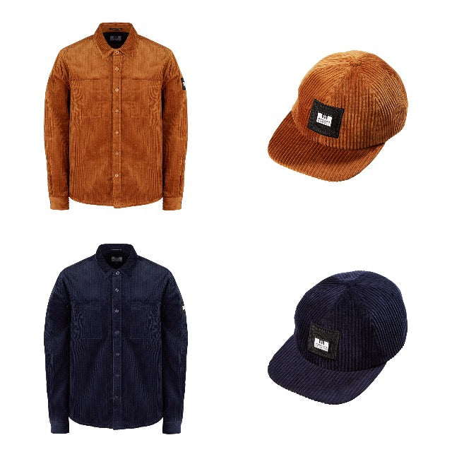 Weekend offender corduroy shirt and cap collection