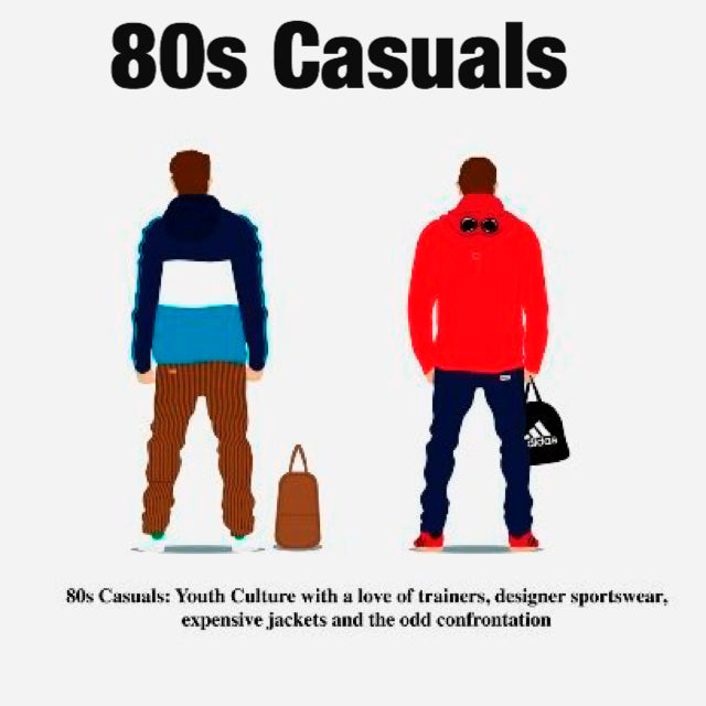80s casuals t shirts, streetwear