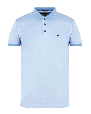 Weekend Offender Polo Dell'Anna Sky Blue/White