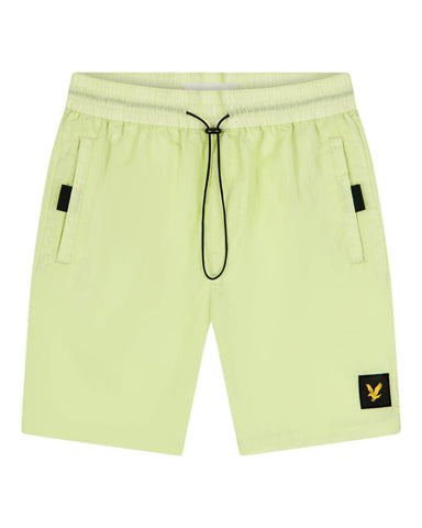 Lyle and Scott Casuals, ripstop shorts, lucid green