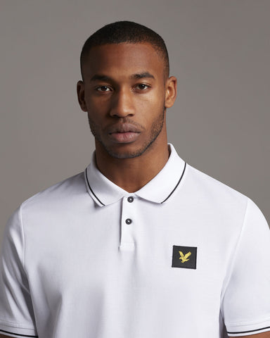 Lyle and Scott Casuals, tipped polo shirt