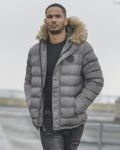 4Bidden Clothing Storm jacket grey