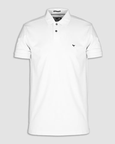 weekend offender dove polo white