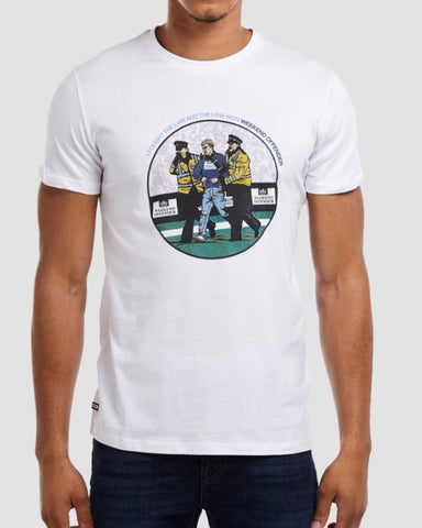 weekend offender t shirt law white
