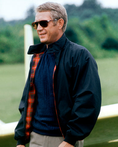 Steve McQueen wears Baracuta Harrington