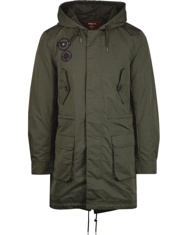 Merc London DEFOE Lightweight Fishtail Parka