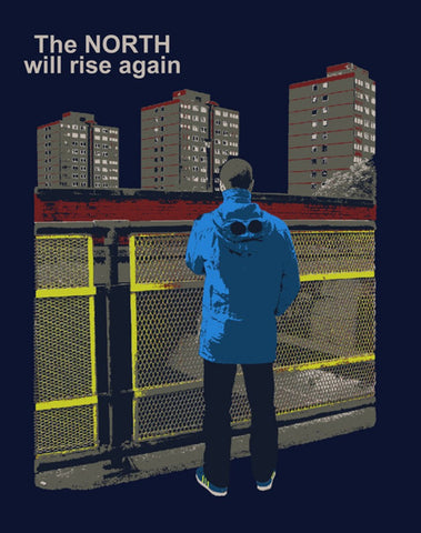 80s casuals t shirt the north will rise again