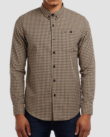 WEEKEND OFFENDER SHIRT HERITAGE CHECK