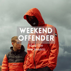 weekend offender clothing
