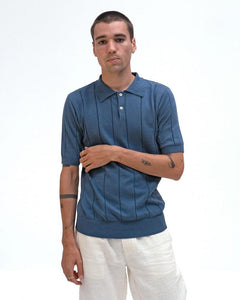 Far Afield JACOBS Polo Ensign Blue