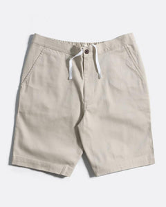 Far Afield Drawstring Shorts Pumice Stone