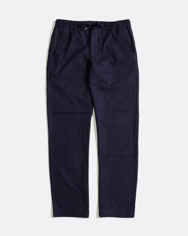Far Afield HOUSE Trousers Ensign Blue Linen