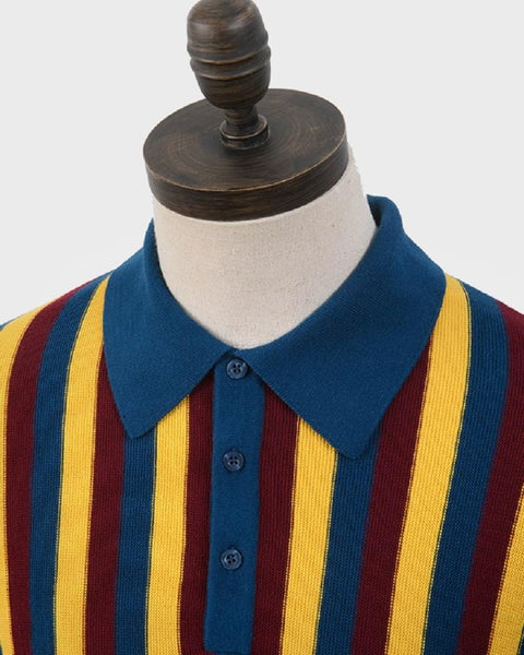 Art Gallery Clothing RUFFIN Polo Sailor Blue