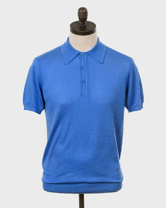 Art Gallery Clothing Polo BYRD Horizon Blue