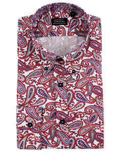 Tootal Long Sleeve Paisley Pattern Shirt