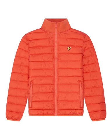 Lyle and Scott PACKABLE PUFFA JACKET Burnt Orange