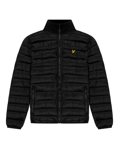 Lyle and Scott PACKABLE PUFFA JACKET Black