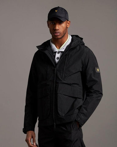 Lyle and Scott HOODED JACKET Black