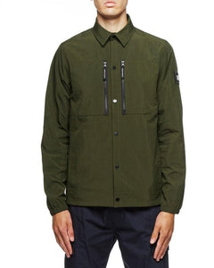 Weekend Offender Over-Shirt NICKY EYES Deep Forest