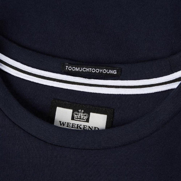 Weekend Offender T Shirt PRISON Navy