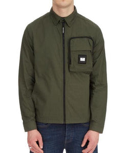 Weekend Offender Over-Shirt RAILAY Dark Army