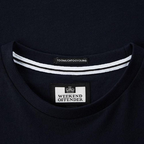 Weekend Offender T Shirt STAMPS Navy
