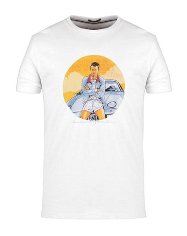 Weekend Offender T Shirt THE BUSINESS White - indi menswear
