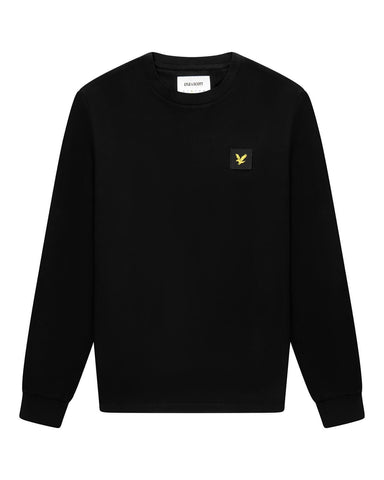 Lyle and Scott Casuals LONG SLEEVE T SHIRT Black
