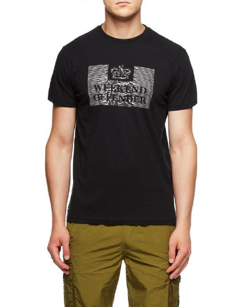 Weekend Offender T Shirt UNKNOWN PLEASURES Black