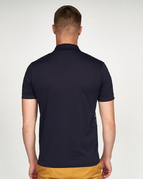 Gabicci Vintage PITCH Polo Shirt Navy