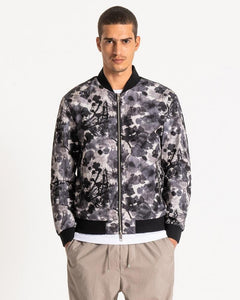 Antony Morato ABSTRACT PRINT BOMBER JACKET