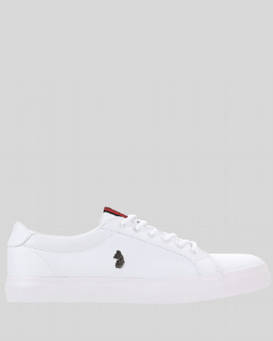 Luke Trainers ARNIE White Canvas