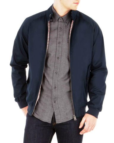Ben Sherman Harrington Navy - indi menswear
