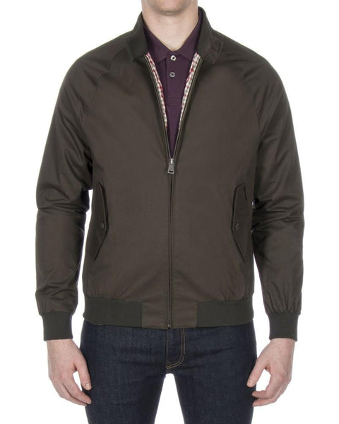 Ben Sherman Harrington Jacket Peat Green