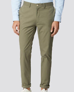 Ben Sherman Chinos Slim Stretch Olive