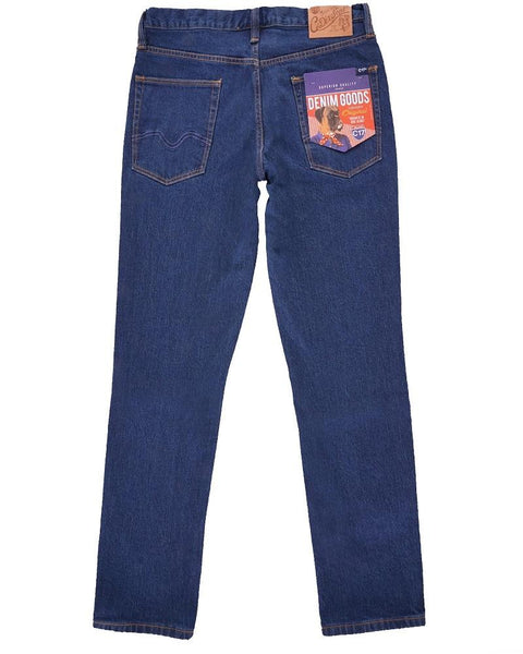 C17 Jeans Slim Straight Comfort Fit Indigo Rinsed