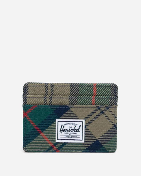 Herschel CHARLIE Wallet Plaid