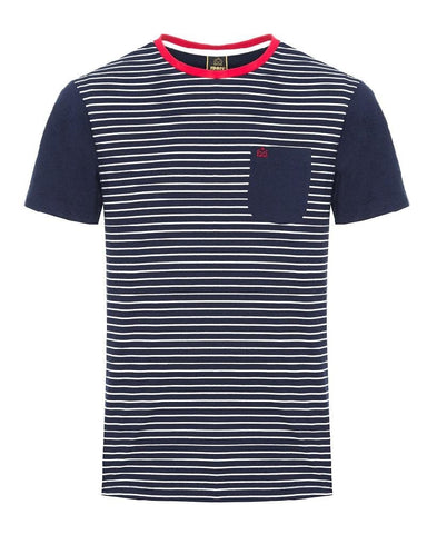 Merc London EATON T Shirt Navy