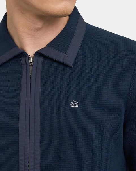 Merc London GLOVER Cardigan Navy