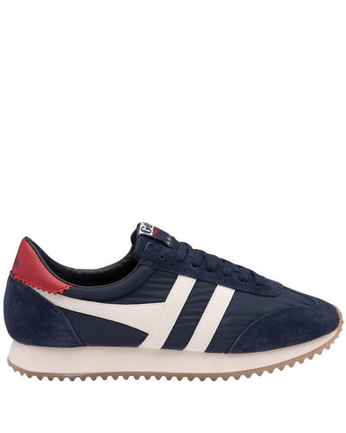 Gola Trainers BOSTON 78 Navy/Off White/Deep Red