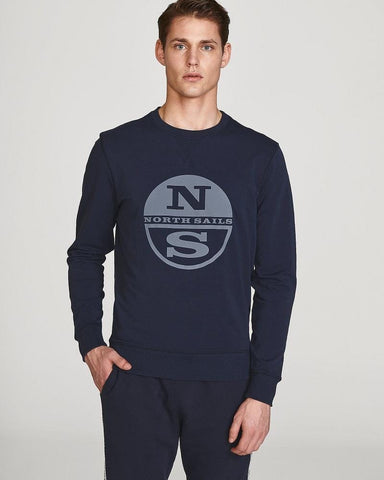 North Sails Graphic Sweatshirt Navy