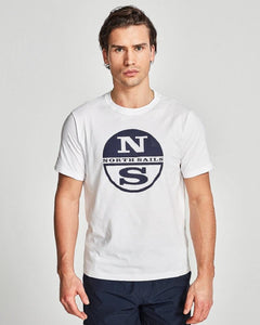 North Sails Graphic T Shirt White